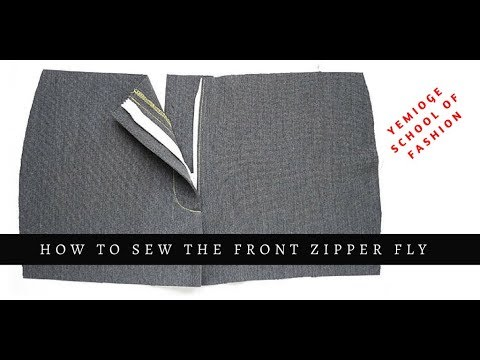 Download Making Pants (Part 3) - Sewing the Front Zipper Fly