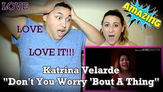 Katrina Velarde - Don't You Worry 'Bout A Thing (Cover) WHILE BABYSITTING COUPLES REACTION Video