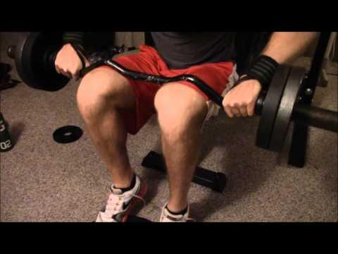HIGH INTENSITY BODYBUILDING LEG WORKOUT
