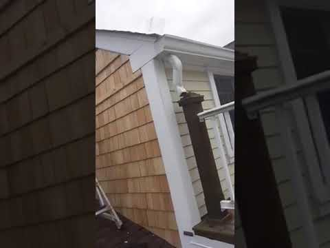 How To Install Cedar Shingles On A Gable End Mystic Ct