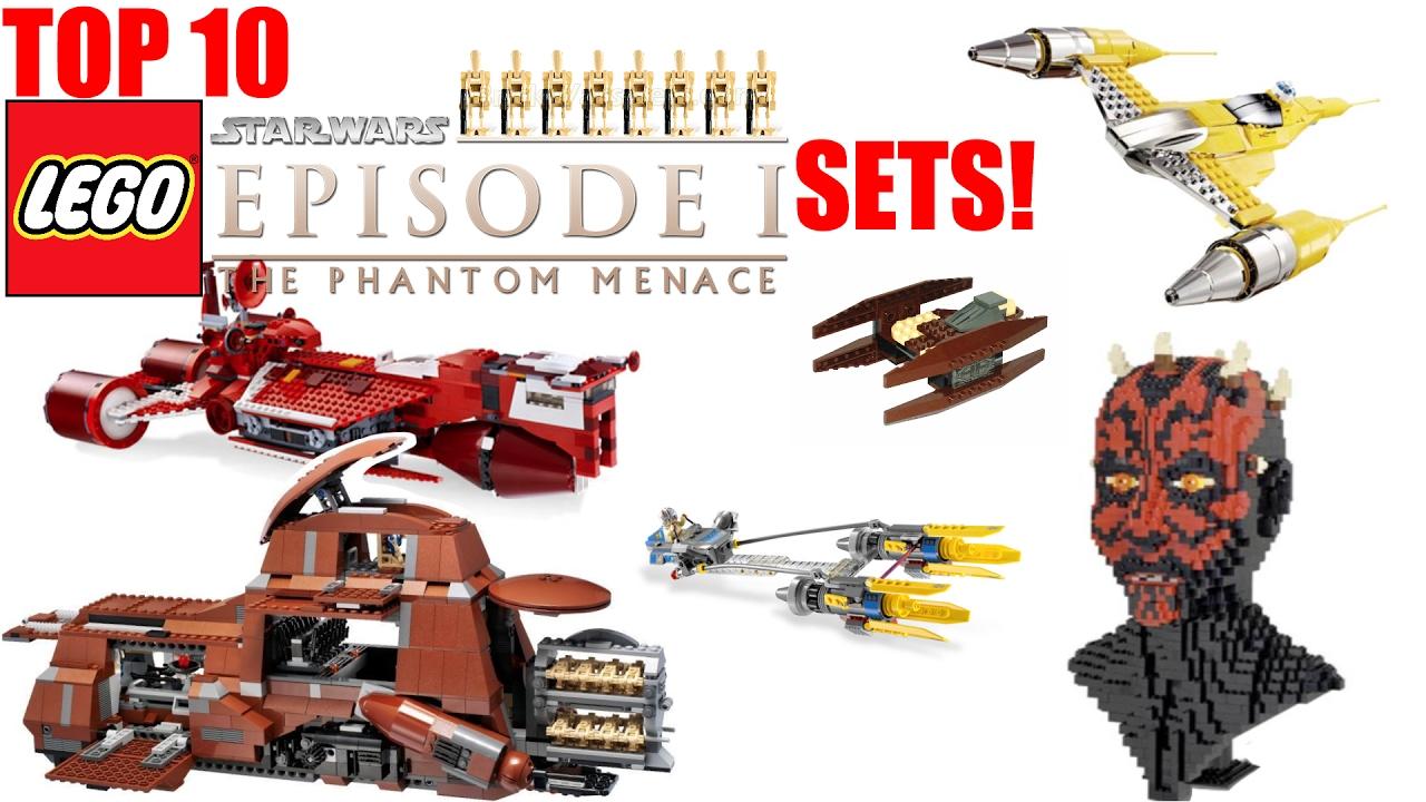 top 10 lego star wars episode 1 sets! (the phantom menace) - youtube