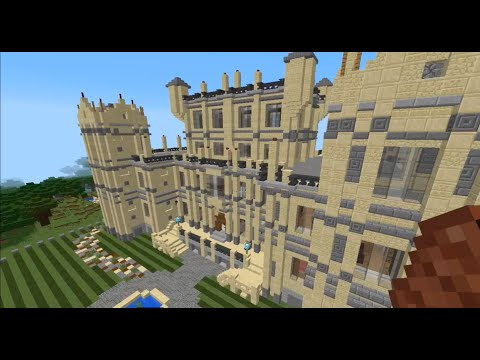 Minecraft: Wayne Manor And Batcave Map And Exploration. - YouTube