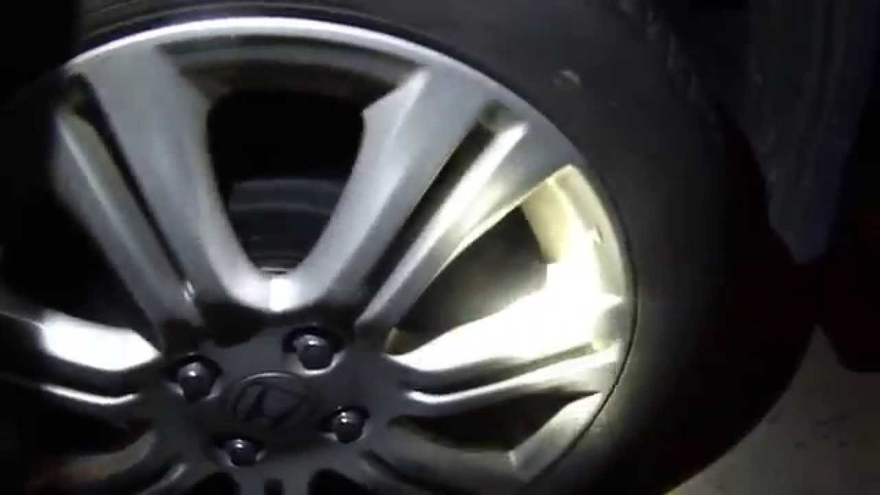 Captivating 2009 Honda Fit Sport, Rear Tire Drag