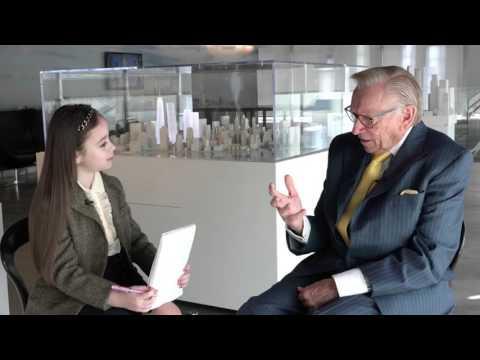 Shayna Interviews Mr  Larry Silverstein