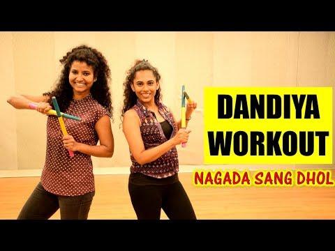 Dandiya Dance Workout   Nagada Sang Dhol Baje   Ram Leela