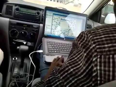 Telecom Training in Ghana - A benchmarking drive test activity_1