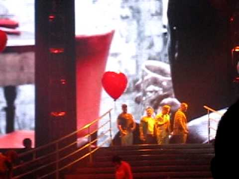 Boyzone - Stephen Gately tribute and Gave It All Away, live in Glasgow