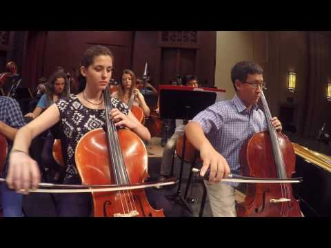 "RACHEL FLOWERS & THE SANTA BARBARA YOUTH SYMPHONY - ""AT THE END OF THE DAY"""