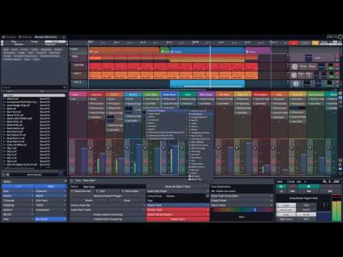 Tracktion Waveform Mixer Overview