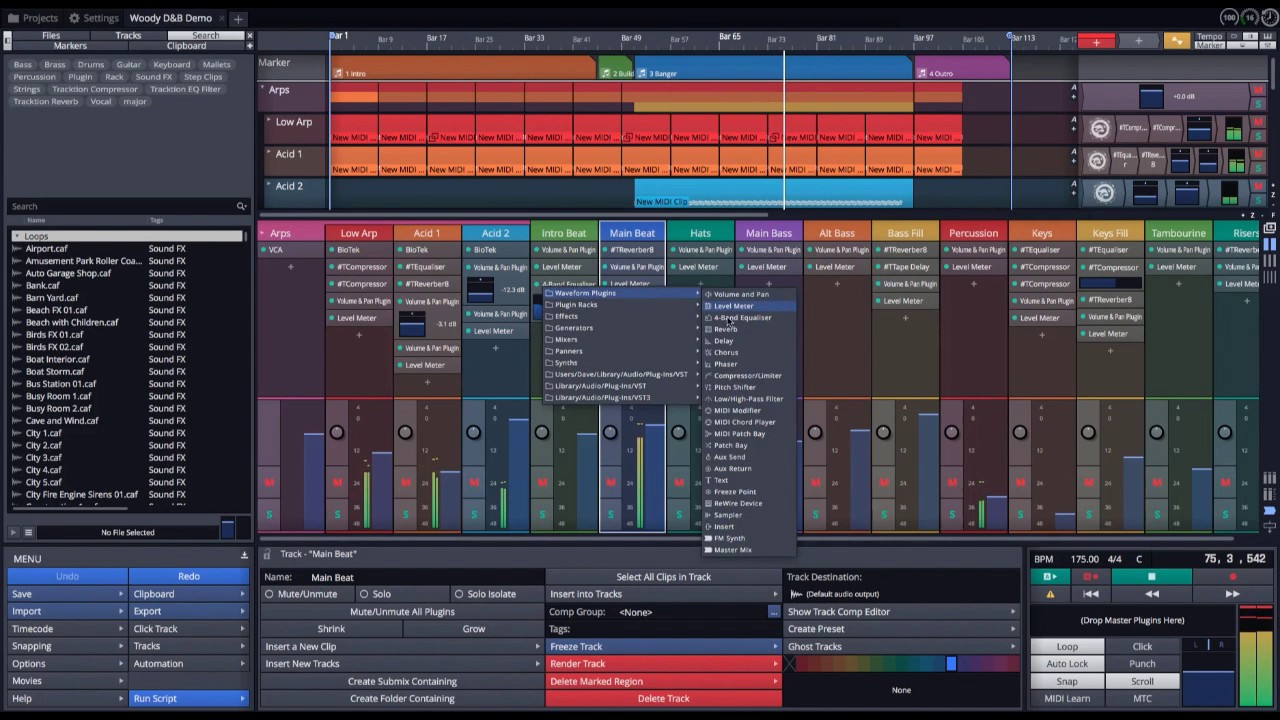 Tracktion Waveform Mixer Overview
