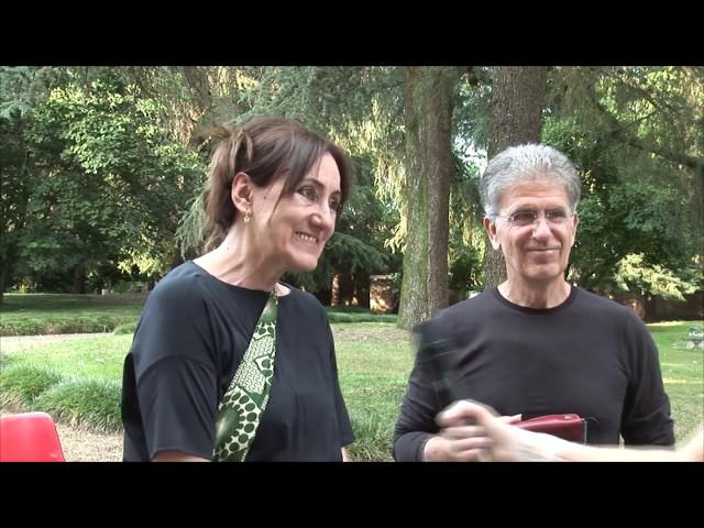 Casalino 27 giugno 2020. Balen Lopez de Munain e Paola Zannoni