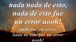 Nada Fue Un Error - Coti, Julieta Venegas & Paulina Rubio (L...