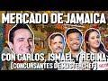 MERCADO DE JAMAICA CON CARLOS, ISMAEL Y REGINA - ÑAMÑAM (Episodio 70)