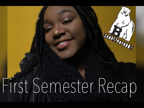 ISSA WRAP! I Survived My First Semester -Bowdoin College