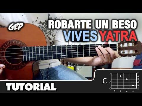 """Como tocar """"Robarte un Beso"""" de Carlos Vives, Sebastian Yatra en Guitarra - Tutorial (HD) ACORDES"""