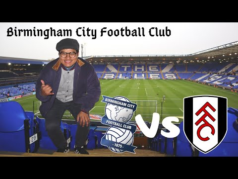 Birmingham City vs Fulham F.C || EFL CHAMPIONSHIP || VLOG 6