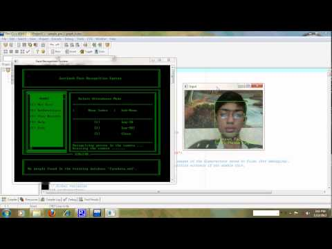 Face Recognition CUI based System Software in C++