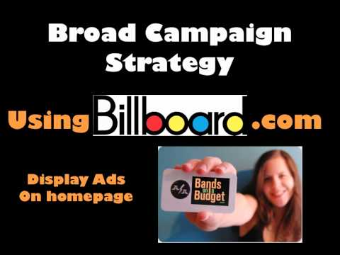 Internet Marketing Strategy For Bands On A Budget