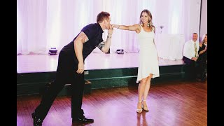Surprise DIRTY DANCING Wedding Dance - Madison and Chris Bell