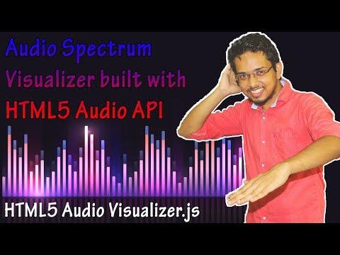 Audio Player Using Html5 Audio Visualizer.js | HTML5 Audio API | NoorHUB
