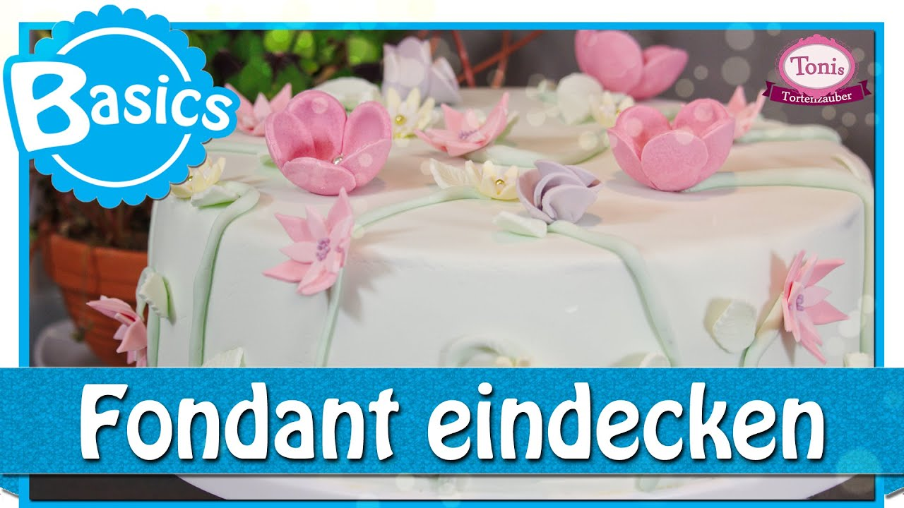 fondant eindecken beziehen glattziehen reparieren back basics tonis tortenzauber. Black Bedroom Furniture Sets. Home Design Ideas