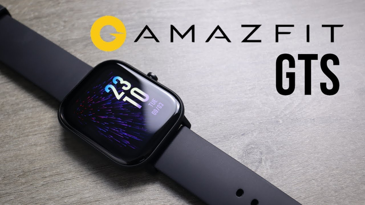 Amazfit Gts Smartwatch Unboxing First Look Youtube
