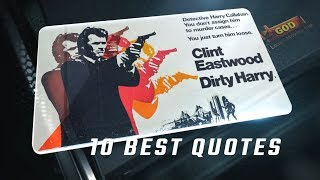 Dirty Harry 1971 - 10 Best Quotes