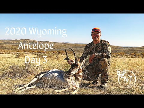 "Wyoming Public Land Antelope 2020 (Day 3 ""Tagged Out!"")"