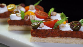 Ratatouille Bars Appetizer – Bruno Albouze – THE REAL DEAL