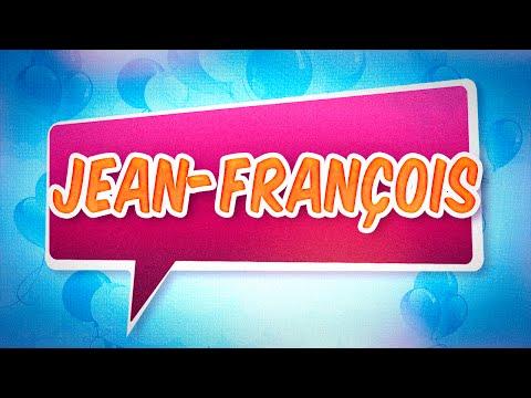 Joyeux anniversaire Jean-François