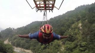 Bungy jumping & flyingfox @ rishikesh