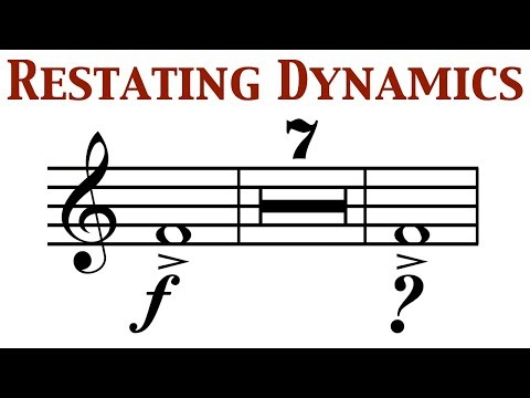 Orchestration Question 16: Restating Dynamics