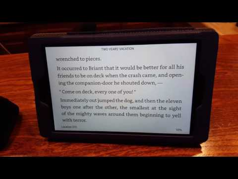 Kindle Fire HD text-to-speech (TTS) for Kindle books