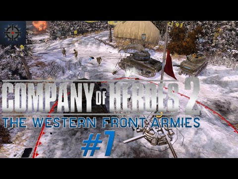 Company of Heroes 2 The Western Front Armies Online Commentary #7 - American Airborne Commander