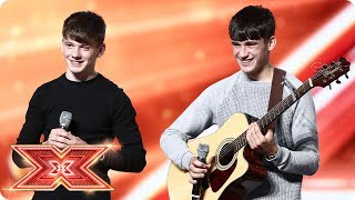 Have Sean & Conor Price chosen the wrong song? | Boot Camp | The X Factor 2017