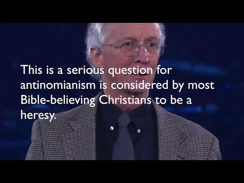 Is John Piper an Antinomian?