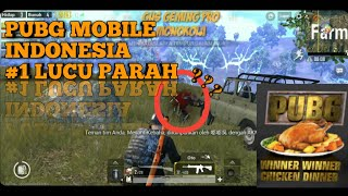 PUBG MOBILE INDONESIA, #1 LUCU PARAH , CHINKEN DINNER