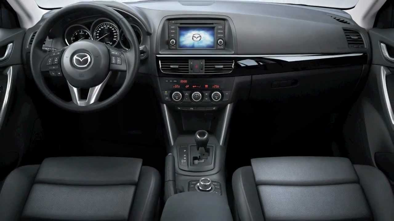 mazda cx 5 interior unveiled youtube. Black Bedroom Furniture Sets. Home Design Ideas