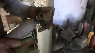 Замена саленблока переднего амартизатора ВАЗ 2101-07.