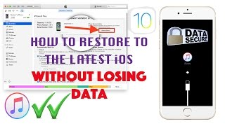 Restore iPhone iPad to the latest iOS without Losing Data