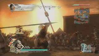 Dynasty Warriors 6 PlayStation 3 Gameplay - Attacks and