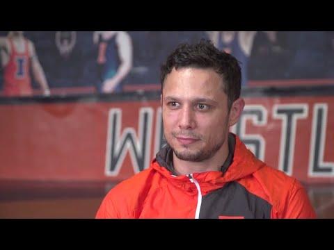 Illinois Wrestling Assistant Coach Mike Poeta Feature