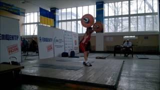 Чемпионат Украины среди мастеров  Запорожье 12-13.03.2016.
