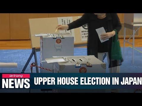 Japan's upper house election begins on Sunday