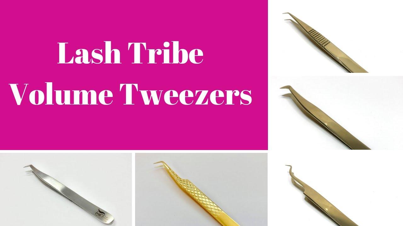 Lash Tribe Volume Tweezers