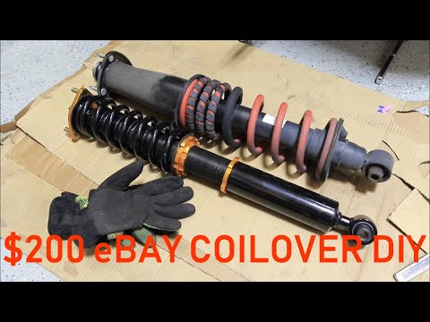 DIY Full Detailed eBay Coilover Install 2006-2013 Lexus IS250 IS350 2IS
