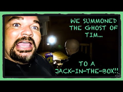 WE SUMMONED A GHOST TO A JACK-IN-THE-BOX!!! (****CREEPY****)