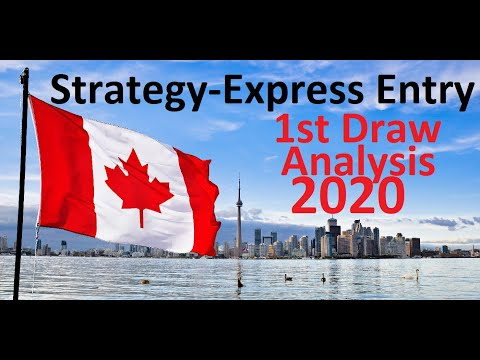 1st Draw 2020 L Express Entry L Tips And Predictions L Proportionate Analysis Of The Pool.