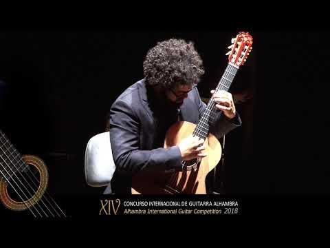 Pedro Aguiar Primer Premio XIV CIGA 2018 Ritmata de Edino Krieger