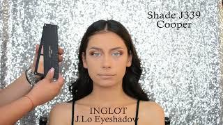Make-up using only INGLOT products - Jennifer Lopez Collection || Turkoane Alexandra